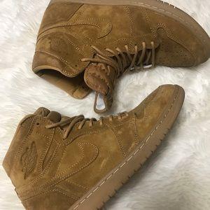 Wheat Air Jordan 1